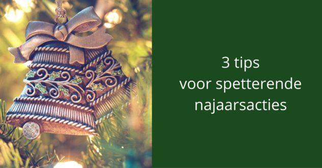 3 tips voor spetterende najaarsacties