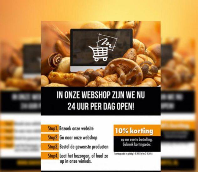 Meer bakkers en slagers starten eigen webshop